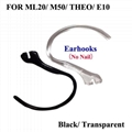 Genuine Earhooks For Plantronics ML20 M50 THEO E10 Earbud Ear Hooks