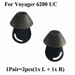 Eartips For Plantronics Voyager 6200 UC Earbuds Silicone Ear Tips Covers Gels