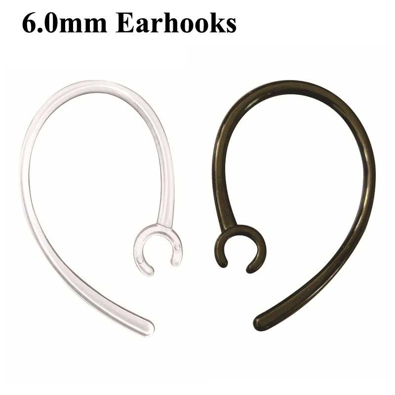 6.0mm Earhooks For Plantronics Earbuds Replacement Ear Hooks