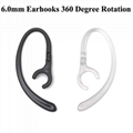 6.0mm 360 Rotation Earhooks For
