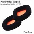 Ear Pads For Plantronics GameCom 780 367 377 777 Leather Ear Cushions