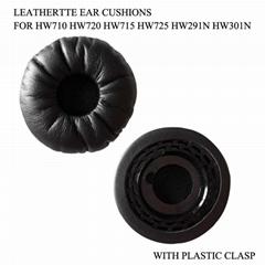 Leathertte Ear Cushions For EncorePro HW710 HW720 HW715 HW725 HW291N HW301N