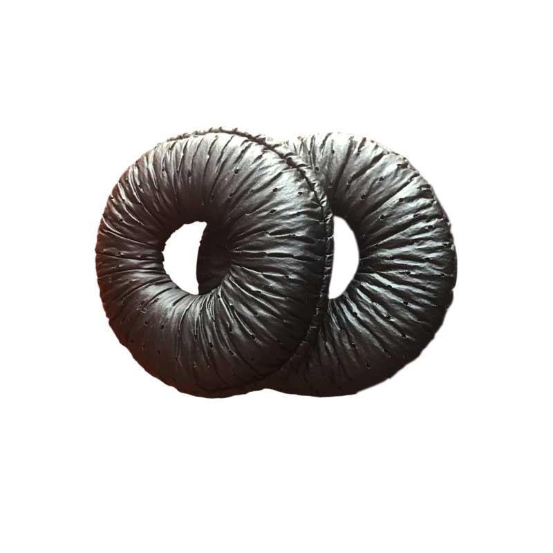 Leatherette Ear Cushions For  Plantronics CS351 CS351N CS361 CS361N CS510 CS520  2