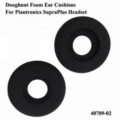 Doughnut Foam Earpads 40709-02 For Plantronics SupraPlus Headset