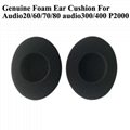 Foam Ear Cushions For Plantronics  Audio 20 60 70 80 300 400 P2000