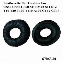 Ear Cushions Leatherette 67063-01 For Plantronics Headsets CS50 CS55