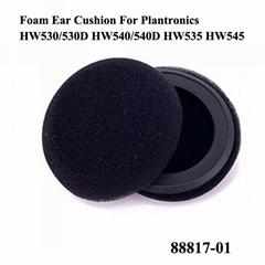 Foam Ear Cushions 88817-01 For Plantronics Headsets EncorePro HW530 HW540