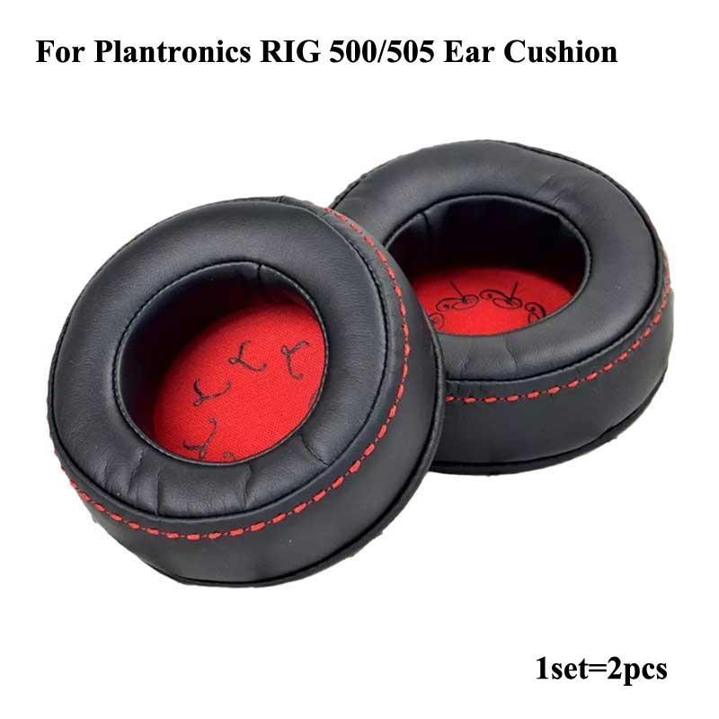 Leatherette Ear Cushions For Plantronics RIG 500 505 1