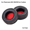 Leatherette Ear Cushions For Plantronics RIG 500 505