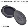 Leatherette cushion Covers For Plantronics Blackwire C510 C520 C710 C720