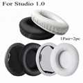 Protein leather Ear Cushions For Monster Beats Studio 1.0 Headphone