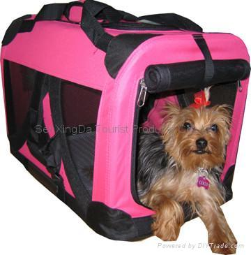 Portable Soft Side Pet Crate 2