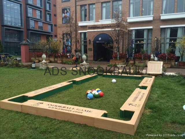 new snookball game poolball game made in China 3