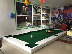 new snookball game poolball game made in China