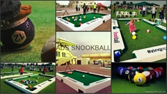 2016 new design snookball table brand CUZU soccer snooker