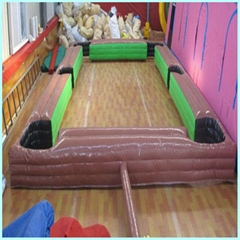 Commercial PVC Tarpaulin Inflatable snookball pool table soccer