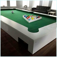New Waterproof Luxury Wooden And Stainless Steel Snookball For Commercial Playgr