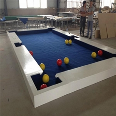 New style white low snookball table game for hot sale