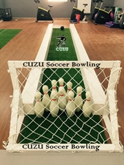 Andys patented product soccer bowling hot selling