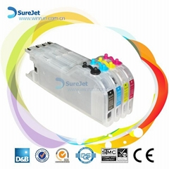 Refillable cartridge for LC12 LC17 LC73 LC75 LC77 LC79 LC400 LC450 LC1240 LC1280