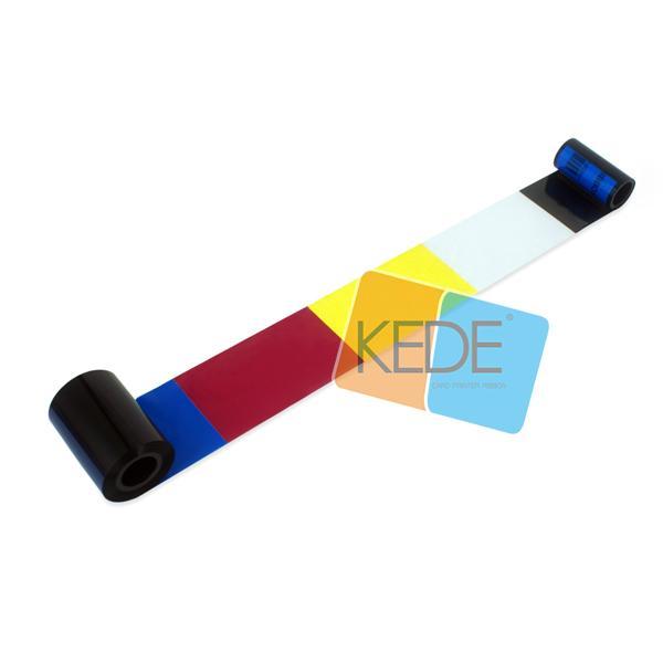 For CIM NC900KRC411 Ф20mm YMCKO Color Compatible Ribbon - 200 prints/roll 5