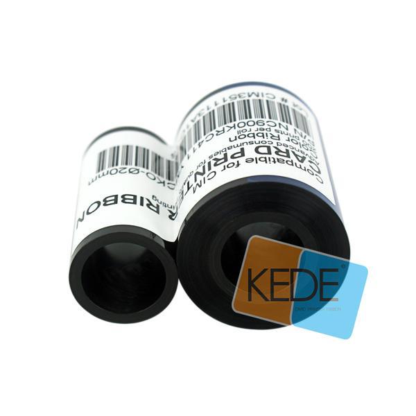 For CIM NC900KRC411 Ф20mm YMCKO Color Compatible Ribbon - 200 prints/roll 4