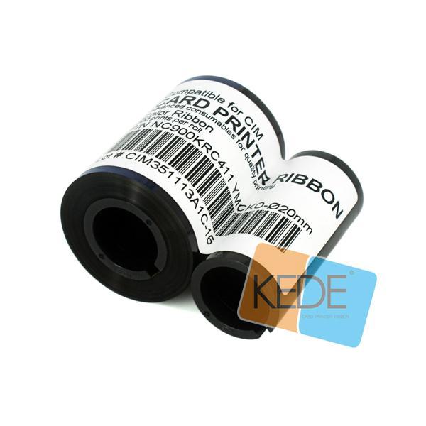 For CIM NC900KRC411 Ф20mm YMCKO Color Compatible Ribbon - 200 prints/roll 3