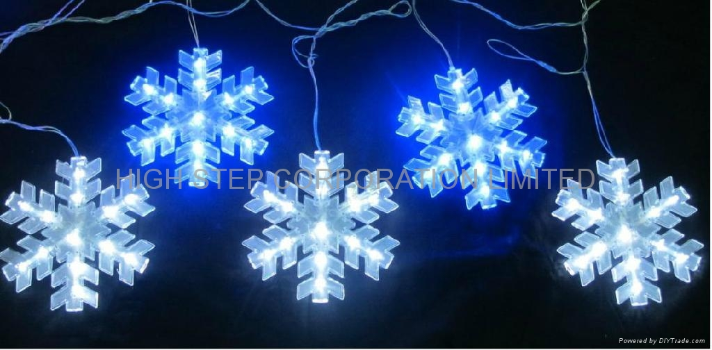 Christmas Lights And Snowflakes images
