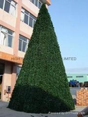 大型户外圣诞树