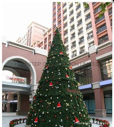 大型户外圣诞树 5