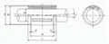 Super Linear Bearings SSW 2