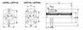 Flange Linear Bearing LMTP-L