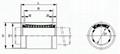 Inch Size Linear Bearing SW,LMB