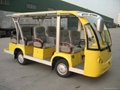CE Approved Electric Shuttle Bus For VIP