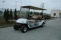 CE Approved 6 Seater Golf Car with Flip Flop Seat