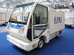 Side loading, electric garbage truck, EG6042X