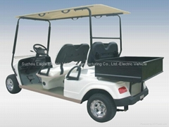 CE approved electric golf utility cart