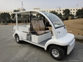 CE approved electric utility car