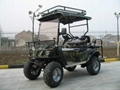 CE Approved Four Seater Electric Hunting