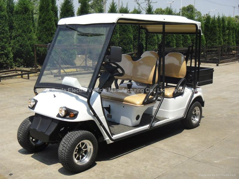 EEC homologated, road legal electric utility car, with cargo bed