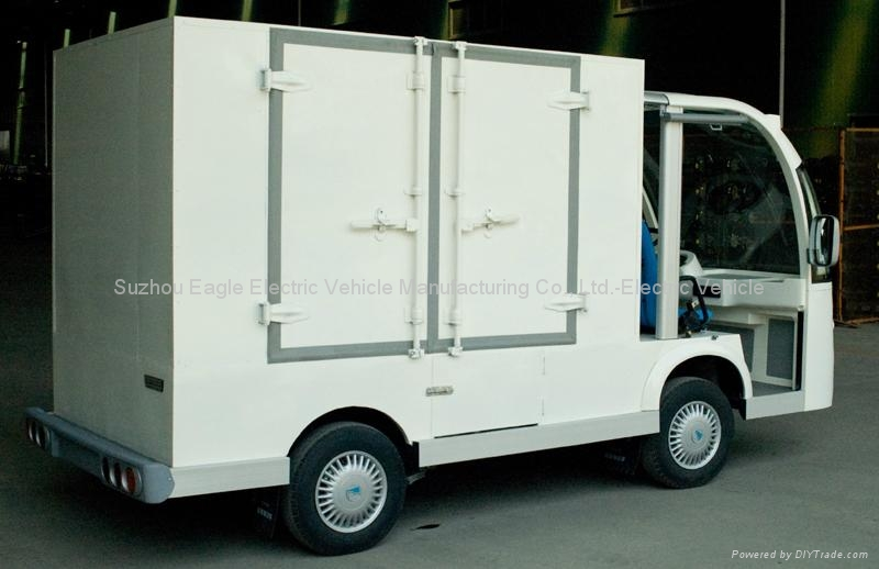 Container Car, electric, CE approved 2