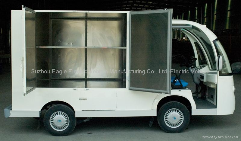 Container Car, electric, CE approved 3