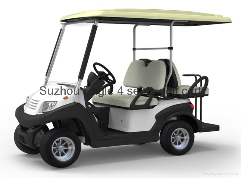 Ce Approved 4 Seats Electric Golf Carts Eg202aksf