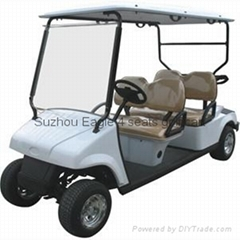 CE Approved Four Seat Electric Golf Cart