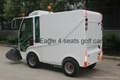 electric road sweeper for cleaning narrow street 3