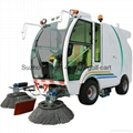 China made electric street sweeper for sale