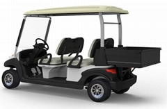 4 Seats Electric Utility Golf Cart with Cargo Box