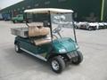 Electric Golf Car with Hydraulic Tipper