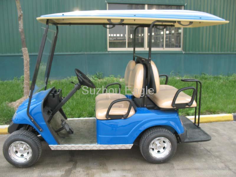 4 Seater Electric Golf Cart Model Eg2028ksf Lexsong