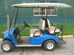 4 seater electric golf c